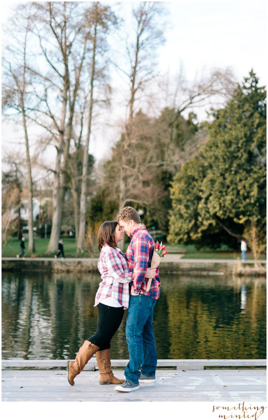 Green Lake Engagement Session by Something Minted Photography
