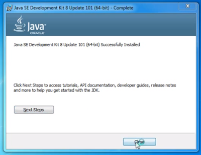How to Install JDK and Configure it on Windows 7