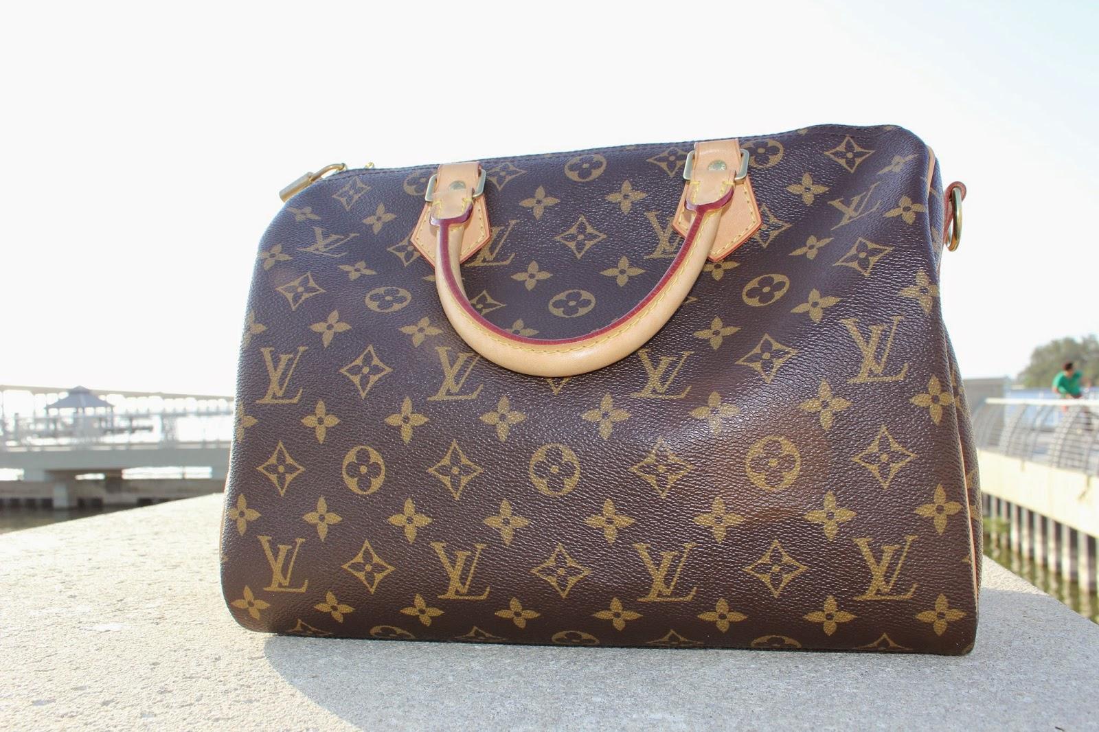 8505d86258ed Stephanie Kamp  Louis Vuitton Speedy Bandoulière 30 Review
