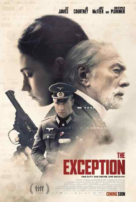 Sinopsis, Cerita & Review Film The Exception (2017)