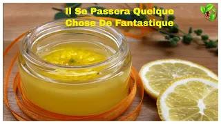 vaseline et du citron