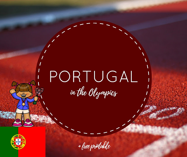 Learn about Portugal in the Olympics (free printable)