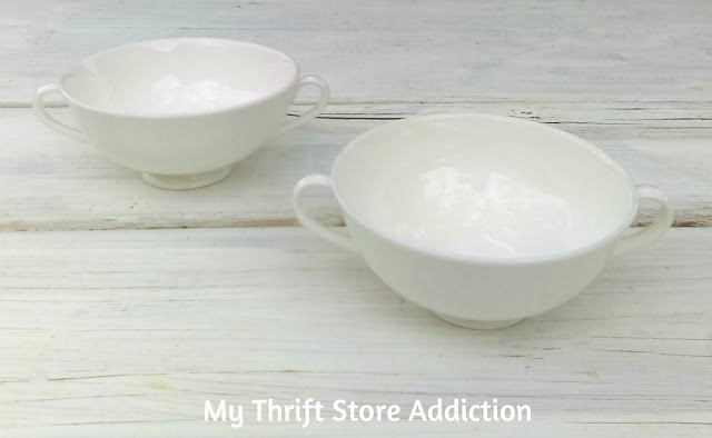 thrift store sugar bowls