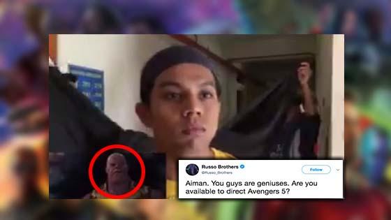 Anak Muda Malaysia Cipta Semula Trailer 'Avengers: Infinity War', Ini Respon Pengarah
