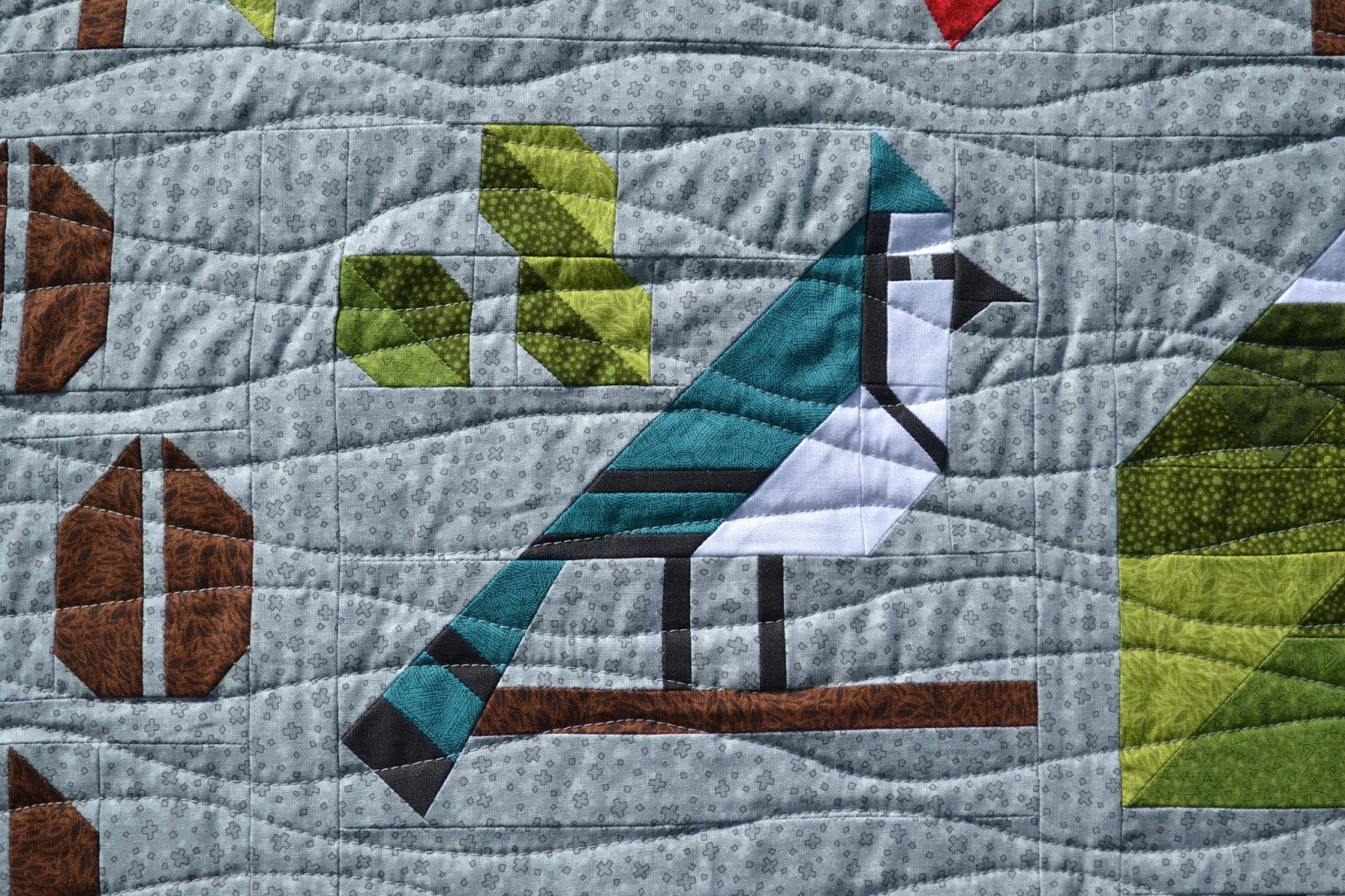 the of two bound or after part but above bereavement memorial is making quilts closeup quilt not rhino upper forest quilting a