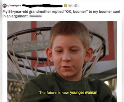 OK Boomer Meme by @meymey_lord on Instagram