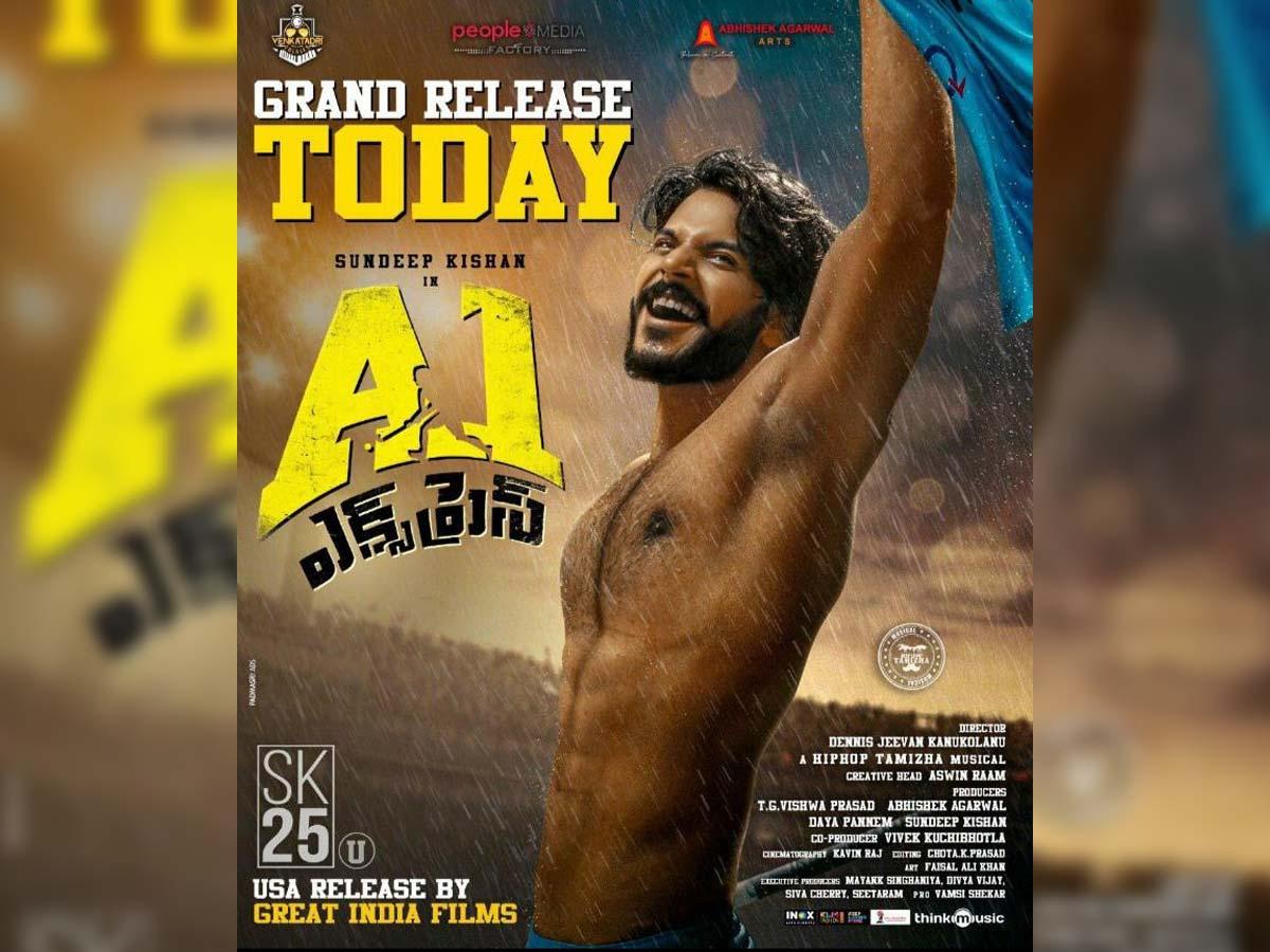 A1 Express 2021 Telugu Full Movie In Movierulz