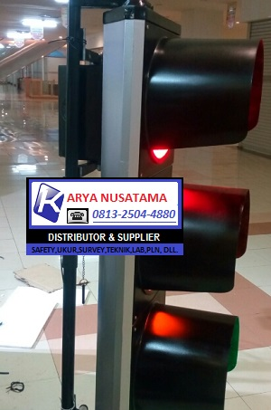 Jual Warning Light Trafic 3 Aspek 3×30cm di Padang