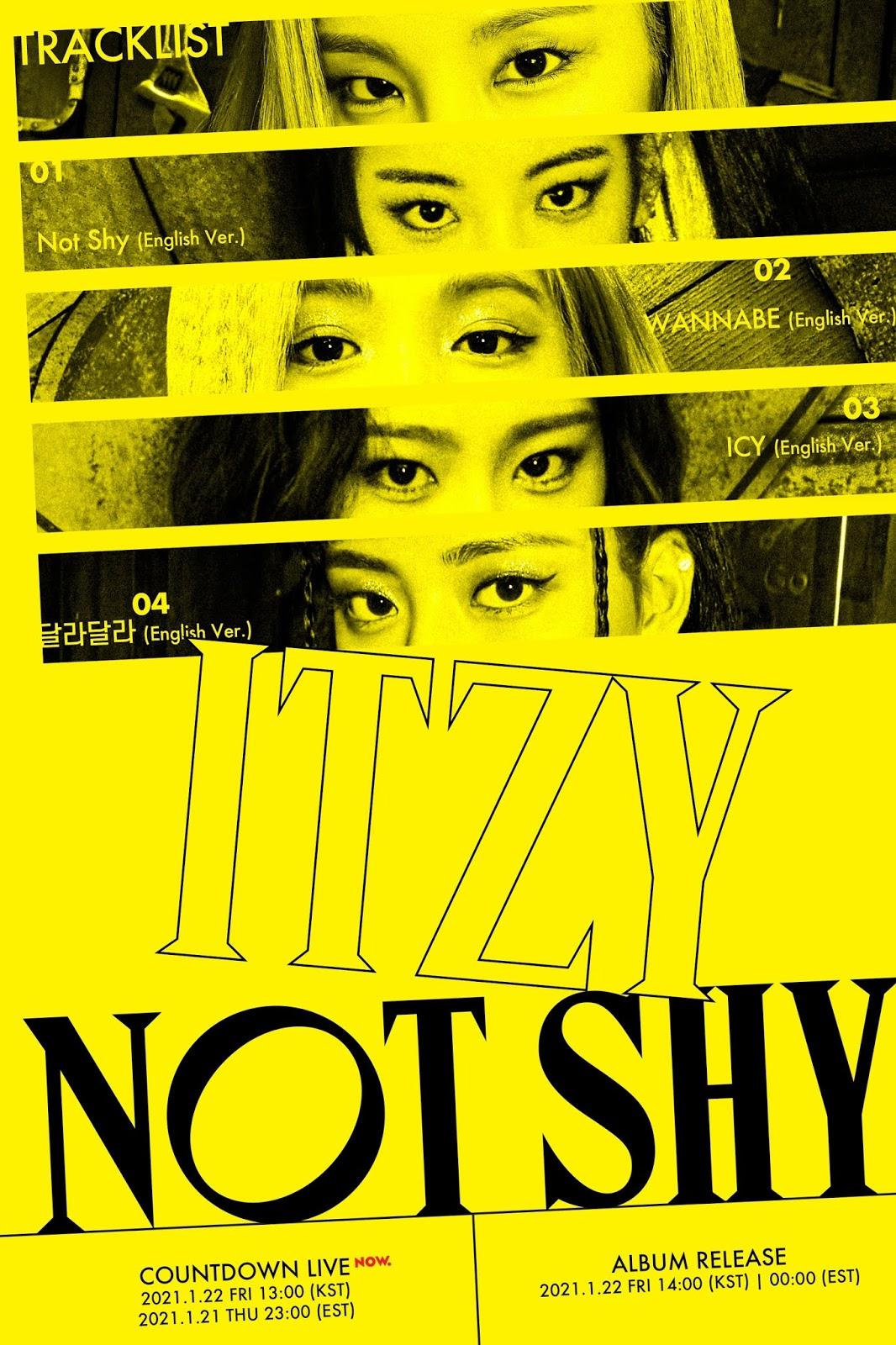 not shy english version itzy
