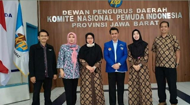 """Dorong Angka IPP dan  IPM,   KNPI Jabar  Buka """"Sekolah Pemuda"""""""