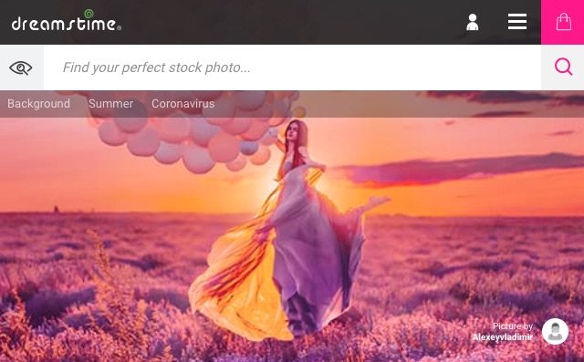 موقع لبيع الصور عبر الإنترنت Dreamstime