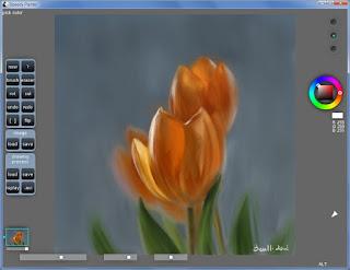 تنزيل برنامج تعديل الصور الشخصية Speedy Painter