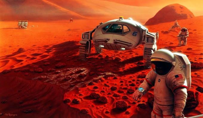 How Humans will build a Colony in Mars