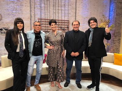 Mariana Godoy recebe Antonia Morais, Eri Johnson, Reginaldo Leme e Paulo Ricardo no Melhor Agora. Crédito: Isabela Gadelha/Vibra