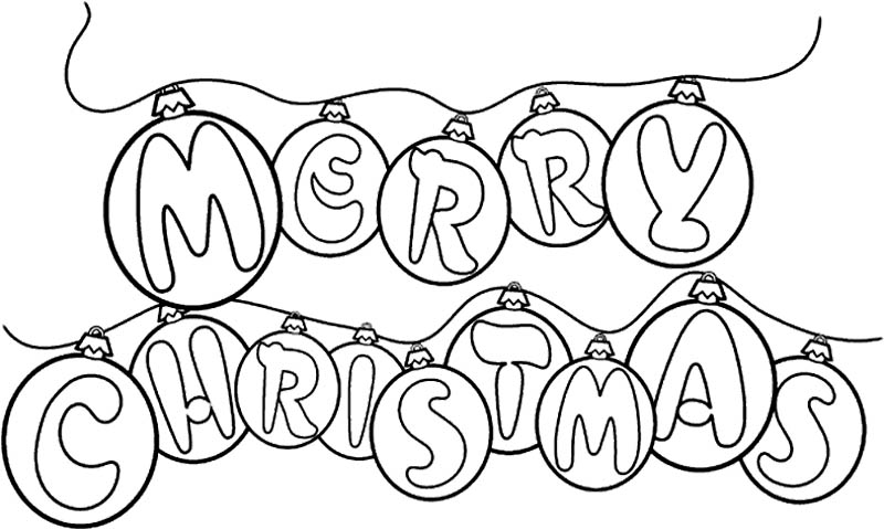 christmas greeting coloring pages - photo #26