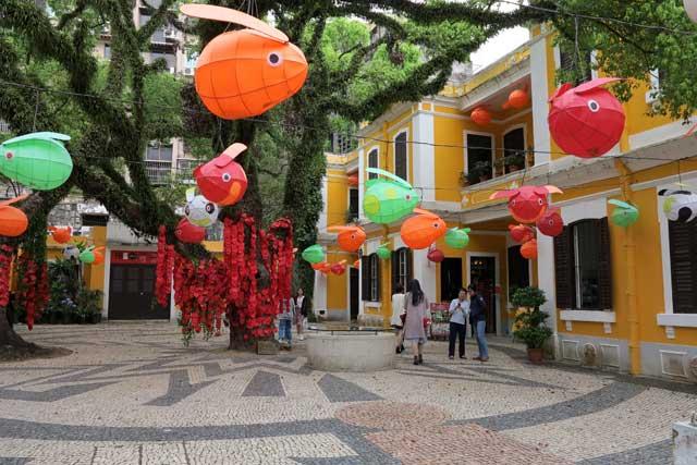 Calçada Pavements in Macau