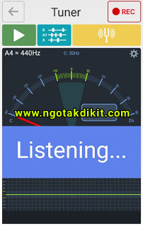 Cara Stem Gitar Untuk Pemula Di Android (Senar Gitar Akustik)