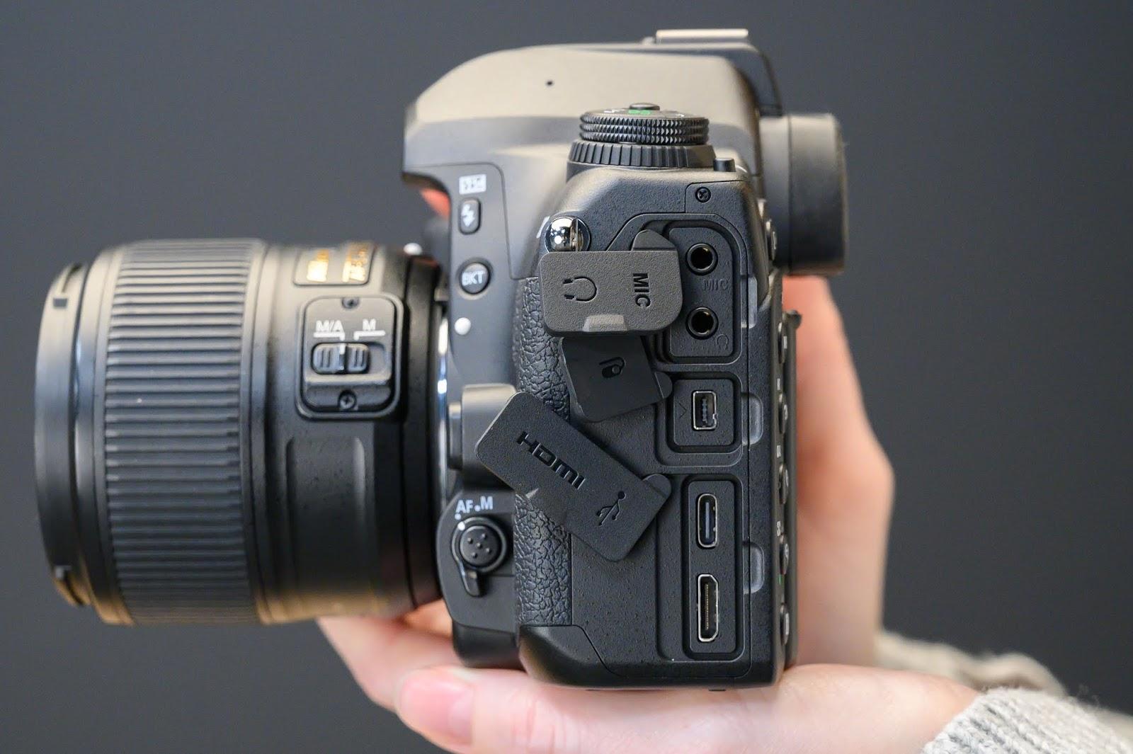 Порты Nikon D780