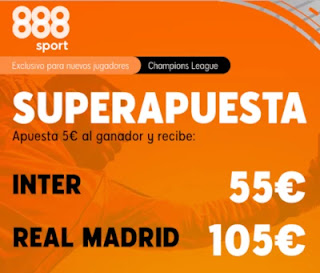 888sport superapuesta Inter vs Real Madrid 25 noviembre 2020