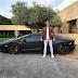 Cristiano Ronaldo atoka na fashion ya hii Lamborghini Aventador yenye thamani ya £260K