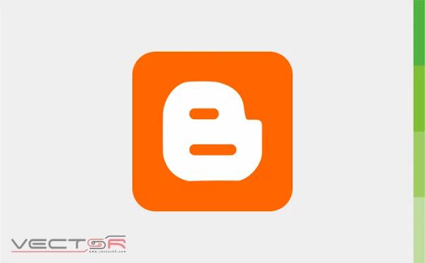 Blogger Icon - Download Vector File CDR (CorelDraw)