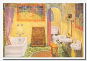 African American bathroom art