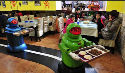 Dilayani Langsung Oleh Robot