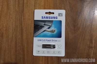 Unboxing Flashdisk Samsung Kotak Bagian Depan