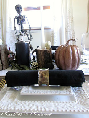Halloween Tablescape Rustic amp Refined