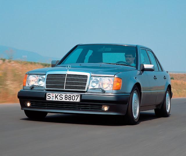 1990 - Mercedes-Benz 500 E, il modello sportivo della Serie 124