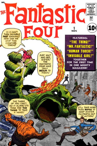 Fantastic Four #1 - Origin