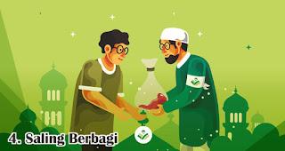 Saling Berbagi merupakan salah satu makna Idul Adha yang perlu diketahui