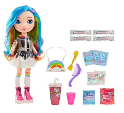 Кукла Rainbow Poopsie с радужными волосами и слаймом