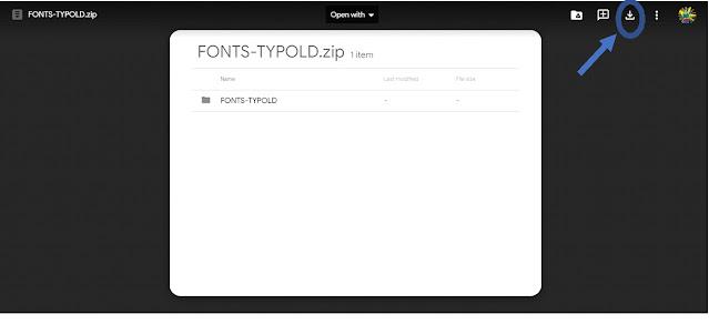 Cara Install Font Typold Kalam Kudus