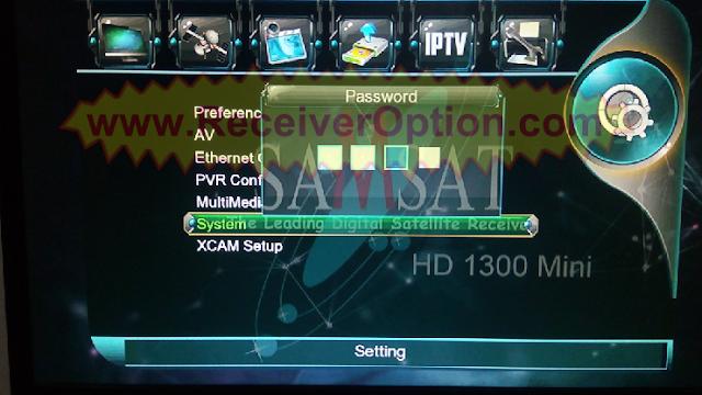 SAMSAT HD 1300 MINI NEW SOFTWARE WITH G-SHEARE-PLUS OPTION