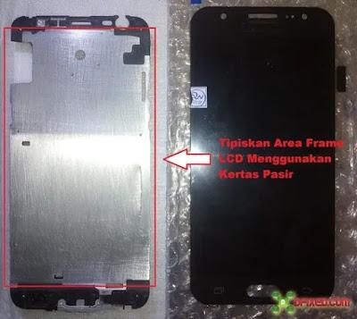 Tipiskan frame alumunium LCD