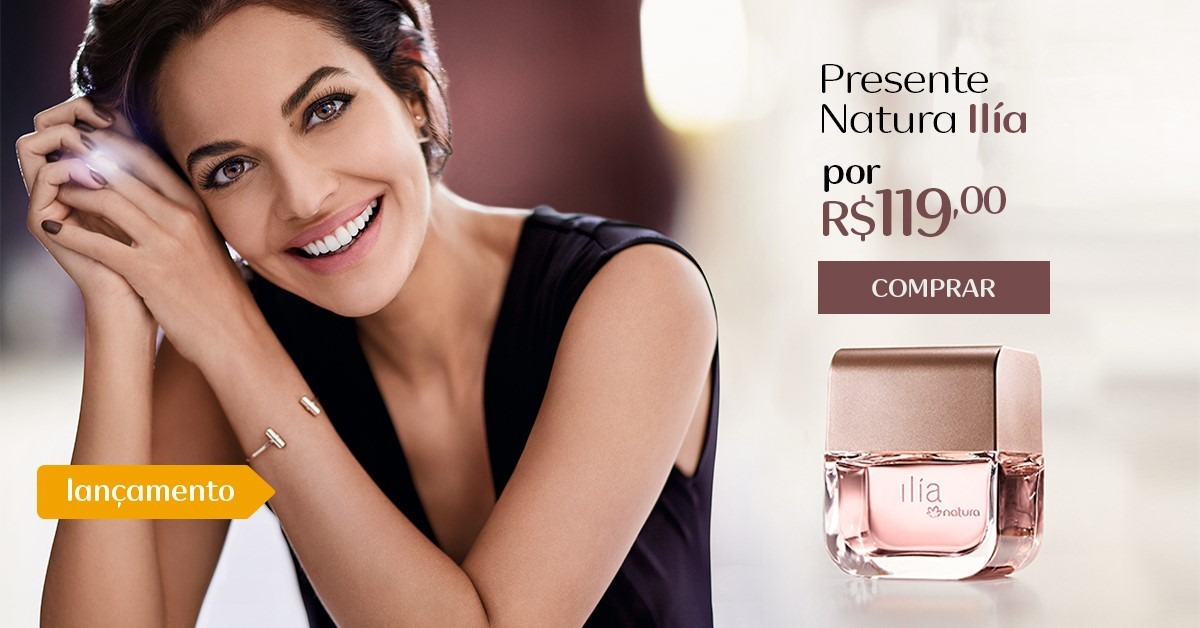 Presente Natura Ilía - Deo Parfum Feminino + Embalagem