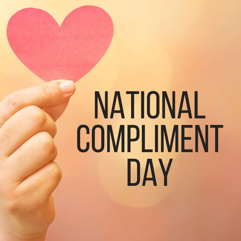 National Compliment Day Wishes Sweet Images