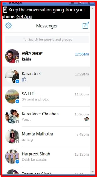 chrome extension facebook messenger location