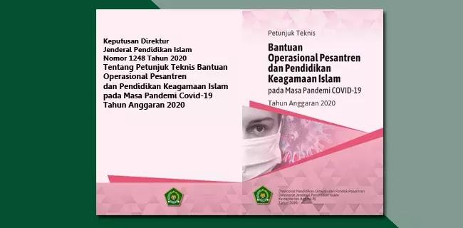 Juknis BOP Pesantren dan Pendidikan Keagamaan Islam pada Masa Pandemi COVID-19 Tahun 2020