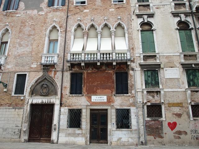 ベネチアの古い建物