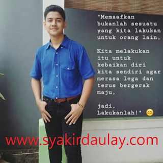 Caption Syakir Daulay Membuatku Hijrah