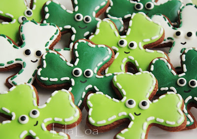 How to make St. Patrick's Day cookies -- decorated sugar cookies
