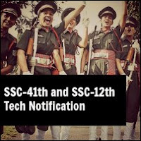 SSC 41st And SSC 12th (Tech) Notification