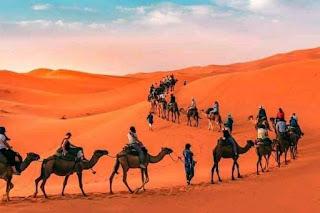 مرزوكة : بحر من الرمال و سحر الغروب