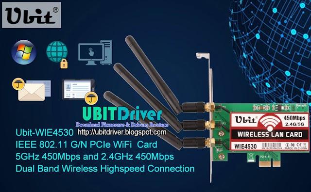 Ubit Driver WIE4530 for Windows 32&64 Bit