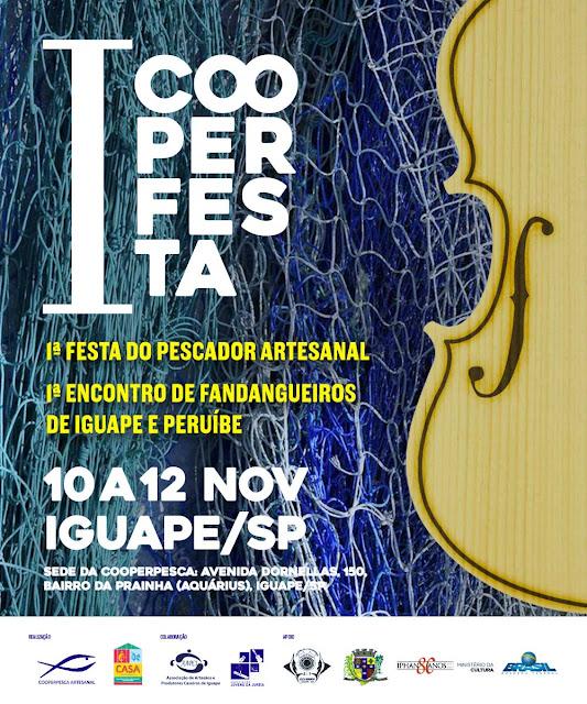 1ª FESTA DA COOPERPESCA E ENCONTRO DE FANDANGUEIROS DE IGUAPE E PERUÍBE