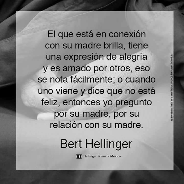 TALLER LA DIOSA: La importancia de la madre según Bert Hellinger