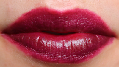 MUA Luxe Inked Lip Stain in Dewberry review swatches