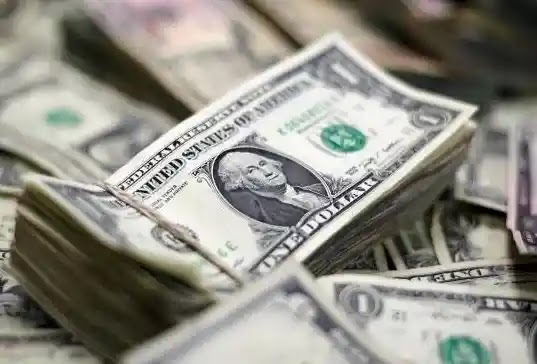 The dollar hit a two-year low